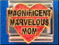 Magnificent Marvelous Mom red