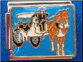 Horse & Buggy   Blue - limited production!