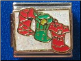 Christmas Stockings Italian Charm