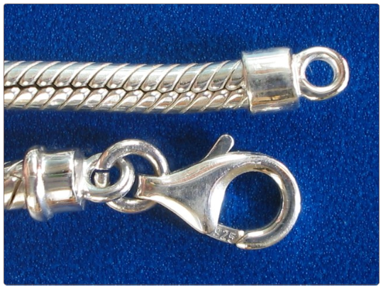 Lobster claw clasp