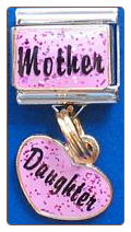 Mother w/Daughter Dangle