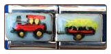 Tractor with Trailer   double link Hand Painted