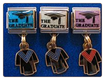 The Graduate Cap & Gown dangle